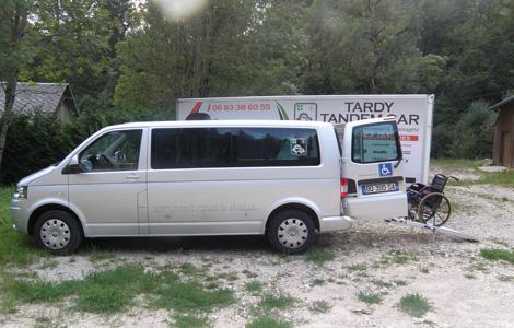 Tardy Tandem Car - Taxi en Chartreuse